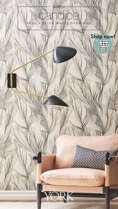 Candice Olson, Charcoal Color, Peel And Stick Wallpaper, Drapery, Eco Friendly, Advice, Tapestry, House Design, York