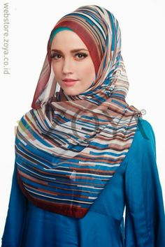 Katalog Jilbab Zoya Terbaru April 2014   Cantik Berbaju Muslim