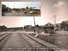 Viaduct dan perlintasan KA Kapasari 1930