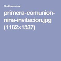 primera-comunion-niña-invitacion.jpg (1182×1537)