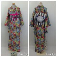 春らしい着物 #着物 #かわいい #うさぎ #女子力 #花柄 #yamamotoyumi #tokyo #japan #kawaii #kimono