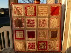 French General Christmas quilt