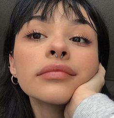 No Piercing Three Rings Helix Ear Cuff /cartilage ear cuff/triple rings piercing imitation/fake faux piercing/ear jacket manchette/ohrclip - Custom Jewelry Ideas Septum Piercings, Bijoux Piercing Septum, Innenohr Piercing, Piercing Retainers, Double Nose Piercing, Septum Jewelry, Cute Piercings, Facial Piercings, Septum Ring