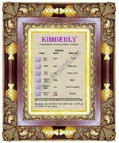kimberlyframed
