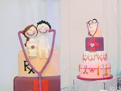 medical themed wedding cake - Google Search