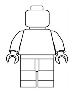 Create you own Lego Man writing activity