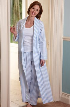 c9f70468f7 Classic Cotton Dressing Gown Linen Store