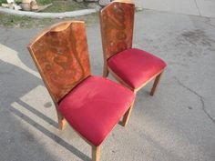 Coca Cola chairs. It's the real thing!