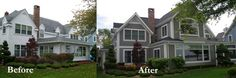 ranch house additions before and after | House Renovation Before And