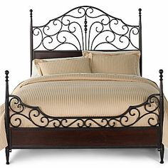 Newcastle Bed - jcpenney Kat's First furniture purchase on her own--isn't it pretty??