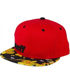 NEFF Daily Snapback cap Red-Floral