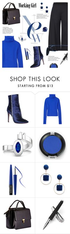 """""""#PolyPresents: New Year's Resolutions - chic in office"""" by lacas ❤ liked on Polyvore featuring Aquazzura, DKNY, MAKE UP FOR EVER, Sole Society, Balenciaga, Aspinal of London, WorkWear, contestentry and polyPresents"""