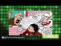 David Beckham and Sir Alex Ferguson Team Up in Beano Comic Strip