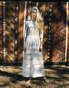 Kim Hersov and embroidery expert Shon Randhawa have set out to create the ultimate boho-inspired travel wardrobe