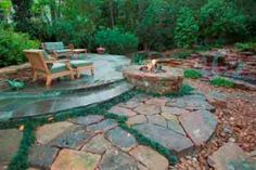 Just to demonstrate that one doesn't always need to have an abundance of plants to create a beautiful, inviting backyard.