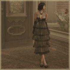 """Check out the Second Life Pic of the Day, """"Shimmy Shimmy All Night Long"""", photo by EvionEmber."""