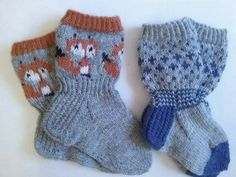 Knitting For Kids, Baby Knitting Patterns, Stitch Patterns, Wool Socks, Knitting Socks, Mitten Gloves, Mittens, Best Baby Socks, Baby Barn