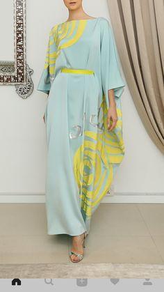 Trendy Dress Elegant Yellow Source by dresses elegant Trendy Dresses, Elegant Dresses, Casual Dresses, Linen Dresses, Kaftan Style, Caftan Dress, Arab Fashion, African Fashion, Steampunk Fashion