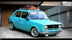 Fiat 147 euro look Hot Rods, Carros Vw, Fiat 128, Fiat Cars, Fiat Abarth, Car Tuning, Small Cars, Cool Bikes, Concept Cars