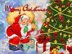 ObgJt.gif (640×480) Vintage Christmas Cards, Merry Christmas, Christmas Ornaments, Disney Princess, Holiday Decor, Disney Characters, Gif 2, Illustration, Painting
