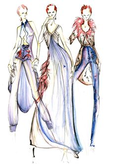 yoyo's fashion design sketch for balenciaga yoyo's fashion sketch for balenciaga Fashion Design Drawings, Fashion Sketches, Fashion Illustrations, Balenciaga, Fashion Art, Womens Fashion, Dress Sketches, Lingerie, Drawing Clothes