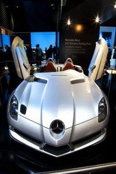 The World Of Cars: 2009 Mercedes-Benz SLR Stirling Moss
