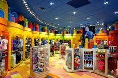The Ink and Paint Shop at Disney Art of Animation Resort.  This looks like a fun place to shop for Disney trinkets!