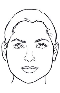 Do's: Add width at the forehead (in short or medium styles) Let long hair cover the jawline to conceal its width Don'ts: Accentuate the pear shape with narrowness at the temples and width at the jawline