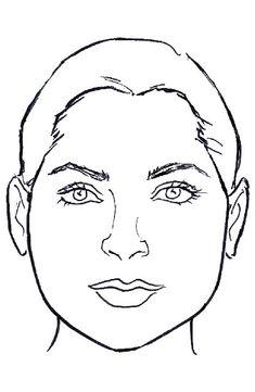 Pear shape face