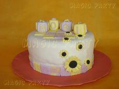 Tarta Girasoles - Sunflowers Cake
