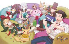 Tags: Fanart, Kingdom Hearts, Riku (Kingdom Hearts), Pokémon, Zelda no Densetsu…