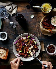 Salad Ninja by Vanessa Rees, via Behance