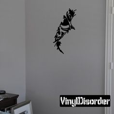 Skull Face Tears through walls Ripped Wall Decal - Vinyl Decal - Car Decal - CD6161