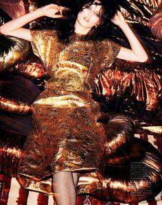 #KatlinAas by #KatjaRahlwes for #VogueJapan June 2014