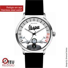 Mostrar detalhes para Relógio de pulso OTR VESPA MOTO 001