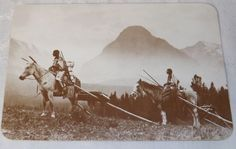 The Blackfoot Indians Postcard by Old West Collectors