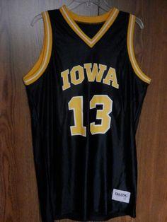 VTG 1990's Iowa Hawkeyes basketball 2 jersey LOT NCAA DeLong men's sz 44 large   Sports Mem, Cards & Fan Shop, Game Used Memorabilia, College-NCAA   eBay!