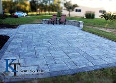 Nicolock Granite City. #kentuckytwist, #nicolock, #outdoor, #patio, #backyard Granite City, Backyard, Patio, Sidewalk, Deck, Outdoor Decor, Projects, Log Projects, Blue Prints