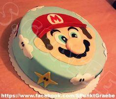 Super Mario Torte Mario Birthday Cake, 6th Birthday Cakes, Super Mario Birthday, Homemade Birthday Cakes, Super Mario Party, Super Mario Cake, Mario Kart Cake, Gothic Wedding Cake, Key Lime Cake