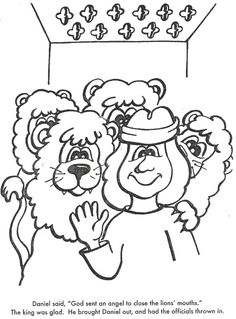 Daniel lions' den - msss bible lesson, Links to story ideas, colouring pages, activity sheets and crafts for story of daniel in the lion's den. Description from shortnewsposter.com. I searched for this on bing.com/images