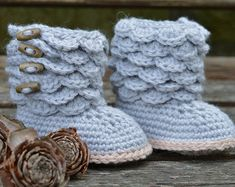 CROCHET PATTERN Baby Sandals Baby Gladiator by matildasmeadow