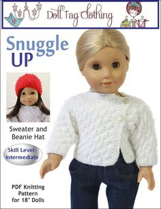 Long Sleeved Purple Knit Top Shirt made for 18 inch American Girl Doll Clothes