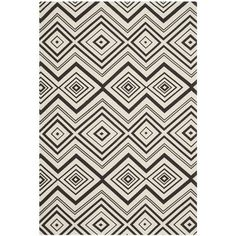 Safavieh Hand-loomed Cedar Brook Ivory/ Brown Cotton Rug (7'3 x 9'3) | Overstock.com Shopping - Great Deals on Safavieh 7x9 - 10x14 Rugs