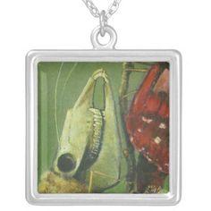 Gothic Mutant Moth Necklace