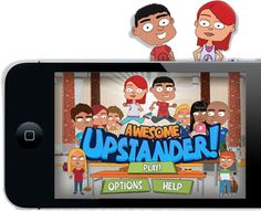 Lots of kids nowadays are playing on their parents iPhones and iPads, hopefully this game would help prevent future bullies!