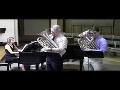 Liebesfreud Duet - Two Euphoniums - Dave Werden and Tim Morris, with Sara Brunk, piano.