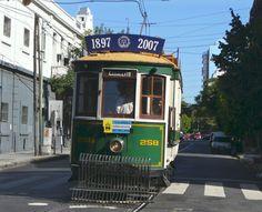 Paseo del recuerdo en tranvia. Sale todos los fines de semana y feriados, desde Emilio Mitre y Bonifaccio. (Caballito) The trams we rode on. Era muy divertido viajar en tranvía .