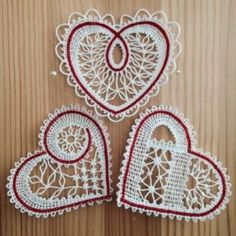 Set of 3 Freestanding Lace Machine Embroidery Designs Bobbin Lace Patterns, Machine Embroidery Patterns, Hand Embroidery Flowers, Lace Embroidery, Advanced Embroidery, Bobbin Lacemaking, Crochet Decoration, Lace Heart, Point Lace