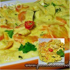 Quem ama fricassé? A dica de #almoço é um delicioso Fricassé de Frango Light!  #Receita aqui: http://www.gulosoesaudavel.com.br/2013/06/04/fricasse-frango-light/