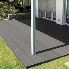 Anti - slip outdoor flooring with an-ti groove surface www.coowinmall.com #deck #decking #tiles #outdoordecking #floor #decoration #outdoorflooring #deckplanking #compositedecking